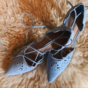 Christian Siriano for Payless Baby Blue Heels